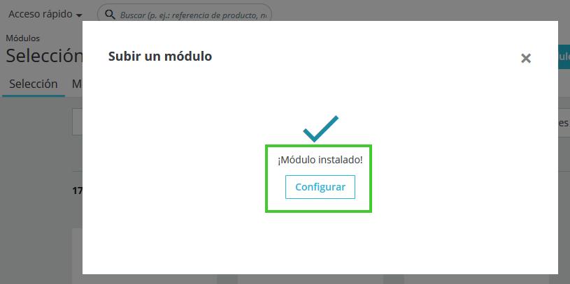 Configurar Módulos PrestaShop