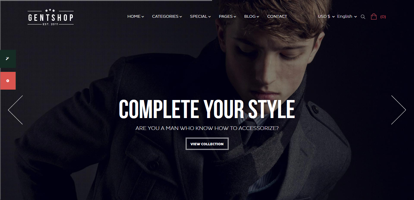 GentShop Great Fashion Prestashop 1.7 Theme
