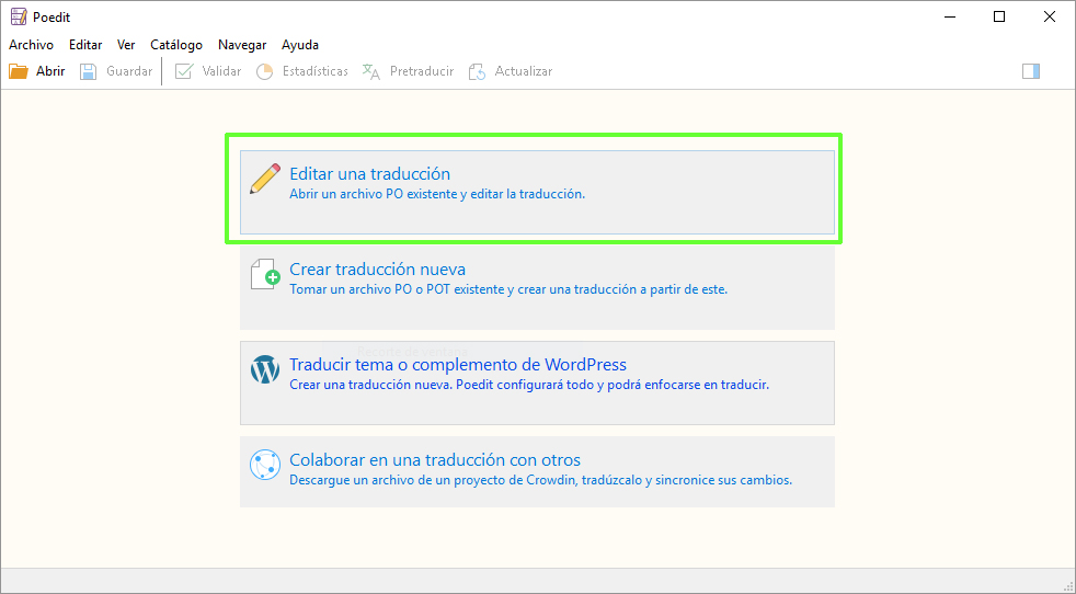 Traducir plugins de WordPress Poedit PRO 2