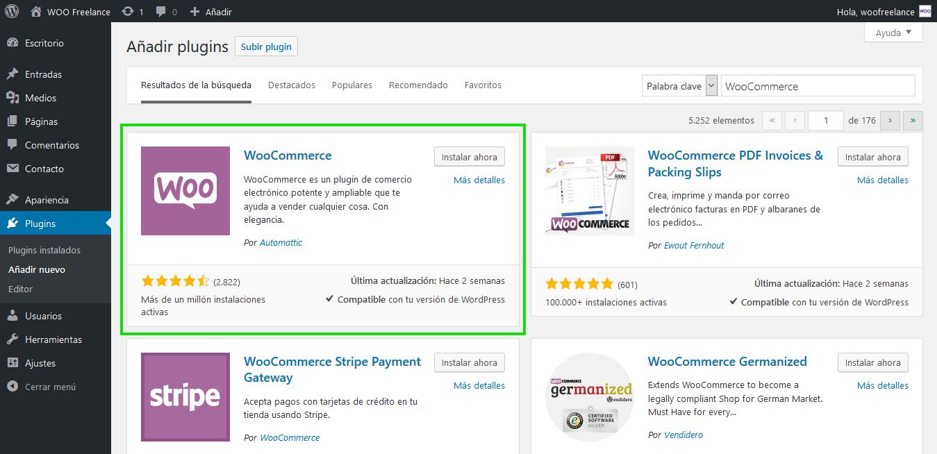 Cómo instalar WooCommerce de forma rápida