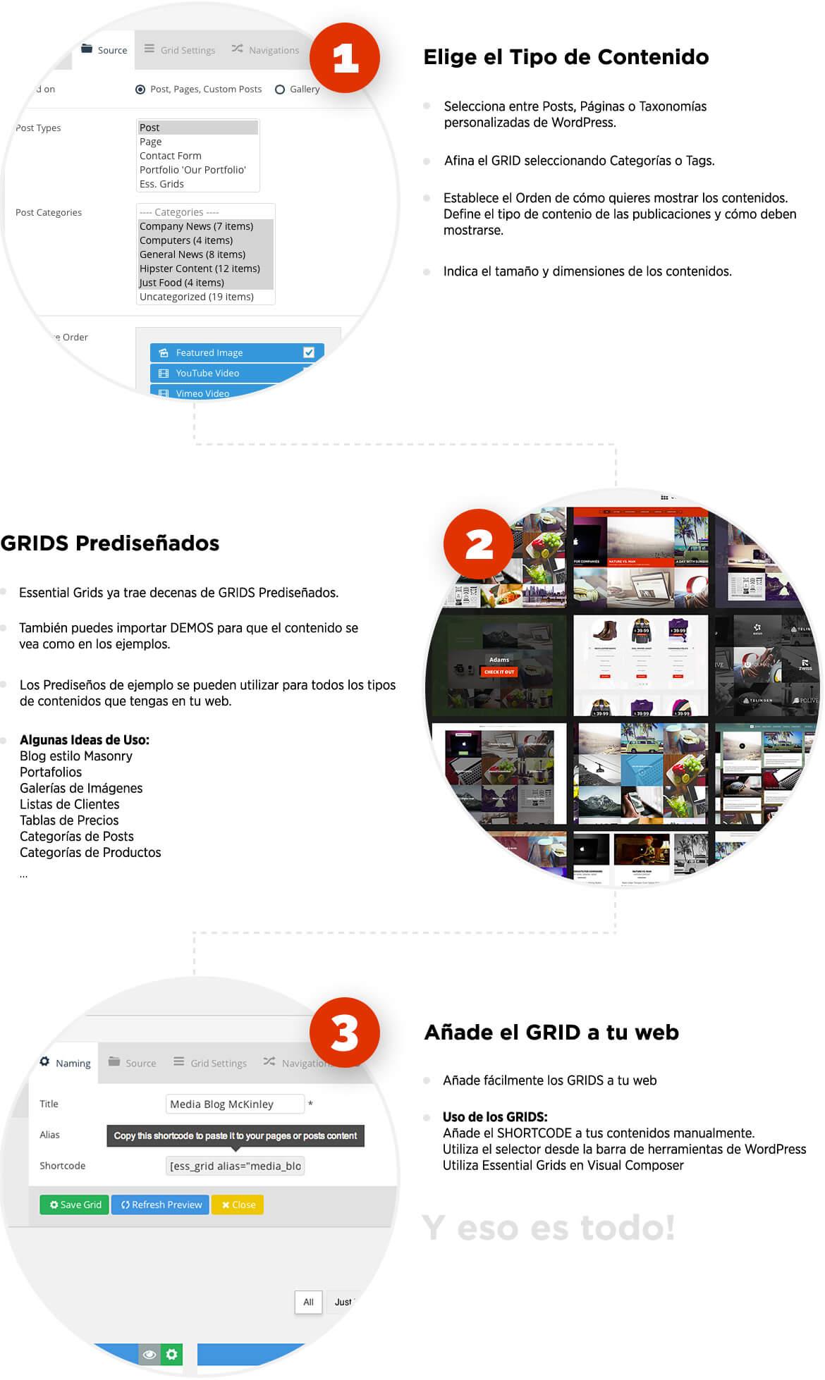 Ordenar posts, categorías, páginas y taxonomías WordPress como quieras