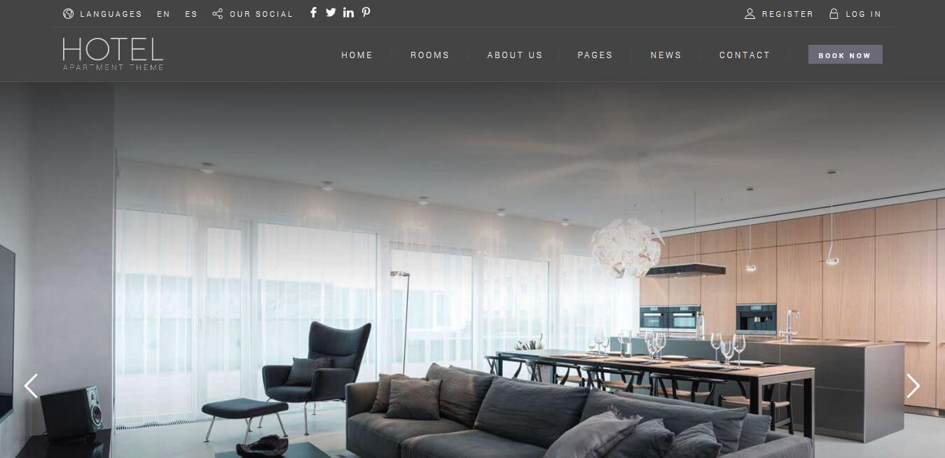 Hotel Booking - WordPress