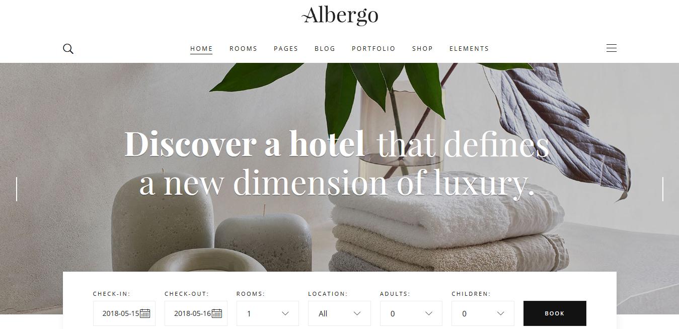 Plantillas WordPress Hoteles