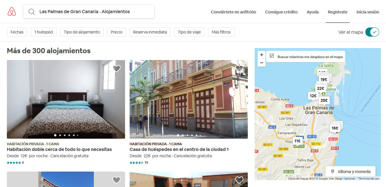 Crear Web Airbnb con WordPress - Airbnb