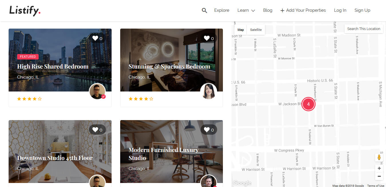 Crear Web Airbnb con WordPress - Listify