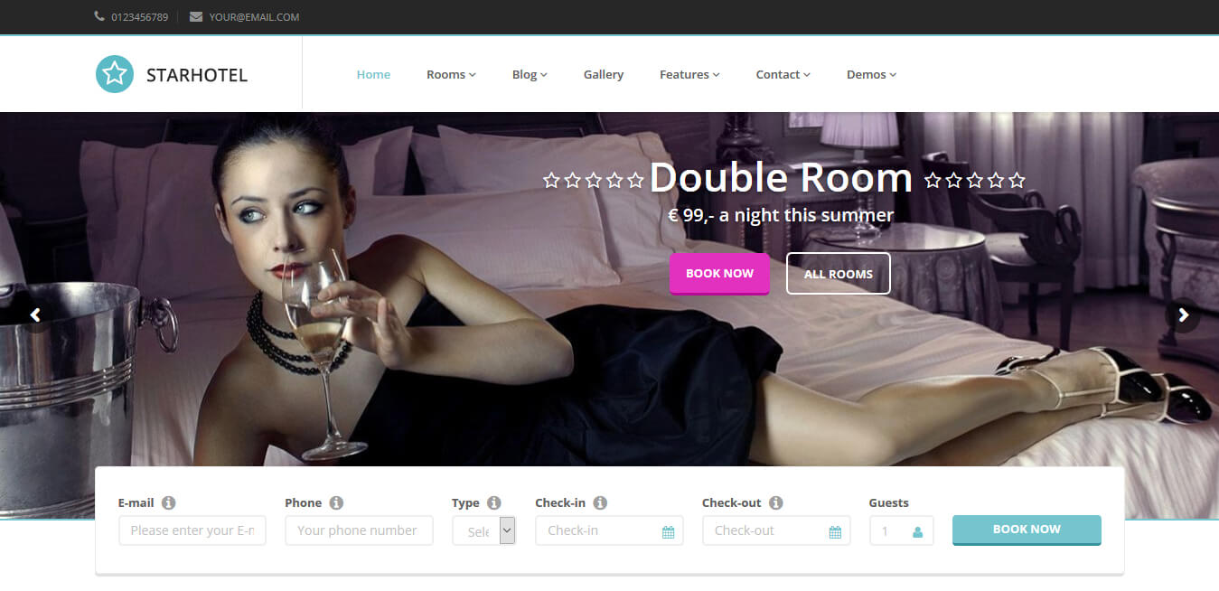 Starhotel - WordPress Hoteles