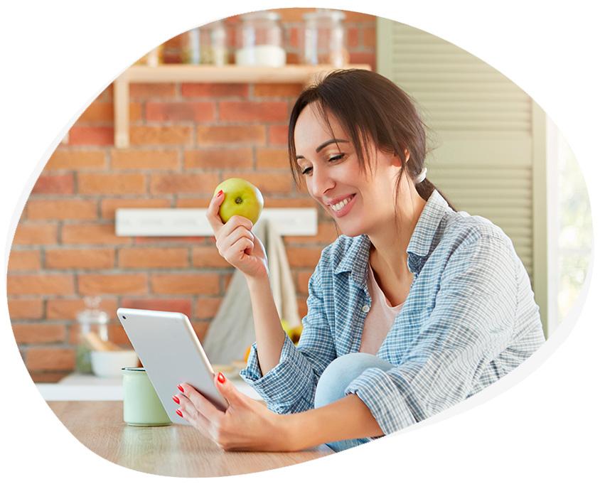 Consulta Nutricionista Online con ZOOM