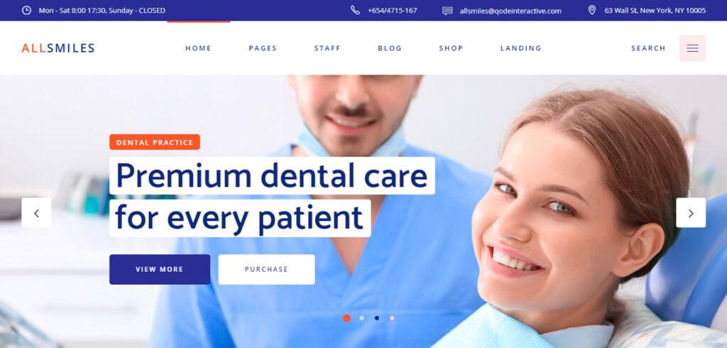 Diseño de Páginas Webs para Dentistas 008